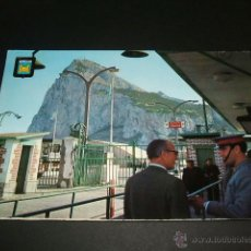 Postales: LA LINEA CADIZ VISTA DEL PEÑON DE GIBRALTAR. Lote 41221195
