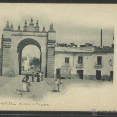 Postales: SEVILLA - 76 - PUERTA DE LA MACARENA - FOT. LAURENT - REVERSO SIN DIVIDIR- (2397). Lote 41228121