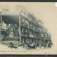 Postales: SEVILLA - 31 - NUESTRA SEÑORA DE LOS REYES - FOT. LAURENT - REVERSO SIN DIVIDIR- (2399)-SEMANA SANTA. Lote 41228207