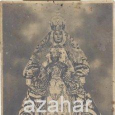 Postales: SEVILLA, ANTIQUISIMA POSTAL FOTOGRAFICA DE LA VIRGEN DE LOS REYES. Lote 41292816