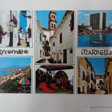 Postales: MARBELLA, COSTA DEL SOL. MÁLAGA. ED. BEASCOA. Lote 41407299