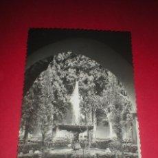 Postales: POSTAL DE GRANADA. ALHAMBRA, JARDÍN DE LINDARAJA. SIN ESCRIBIR.. Lote 41585914