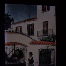 Postales: POSTAL FOTOGRÁFICA COLOREADA CIRCULADA MÁLAGA ED ARRIBAS-ZARAGOZA SERIE Nº 1060 TÍPICO MARENGO. Lote 41642856