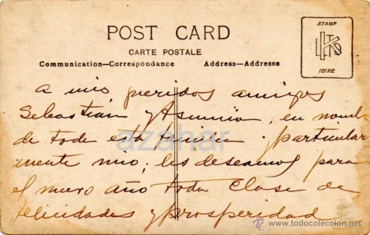 Postales: CADIZ, 1921, POSTAL FOTOGRAFICA DE UN BARCO EN EL PUERTO DE CADIZ, MAGNIFICA - Foto 2 - 41671626