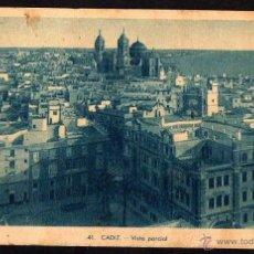 Cádiz . Vista parcial. Circulada