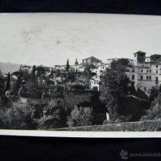 Postales: POSTAL FOTOGRÁFICA CIRCULADA 1951RONDA JARDINES Y CASA DEL REY MORO Nº18. Lote 41788155