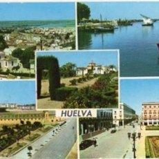 Postales: HUELVA - 5 VISTAS (ED ARRIBAS N 2020). Lote 41849872