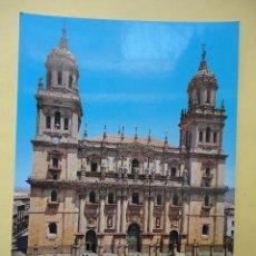 Postales: FACHADA DE LA CATEDRAL DE JAÉN. ED. ARRIBAS. Lote 41901098