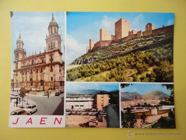VISTAS DE JAÉN. ED. ARRIBAS (Postales - España - Andalucia Moderna (desde 1.940))