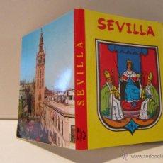 Postales: BLOC POSTAL SEVILLA. DESPLEGABLE DE 20 POSTALES HELIOTIPIA ARTISTICA 1967. Lote 42147185