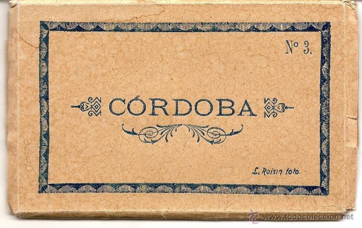 CÓRDOBA Nº 3 - L. ROISIN - TIRA CON 10 POSTALES EN MUY BUEN ESTADO (Postales - España - Andalucia Moderna (desde 1.940))