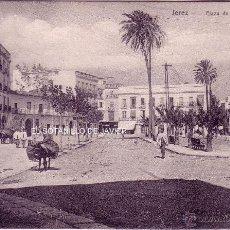 Postales: CADIZ - JEREZ DE LA FRONTERA - PLAZA ALFONSO XI SERIE 711, Nº 12. KNACKSTEDT 8, NATHER. LICHTDRUCK. Lote 42189748