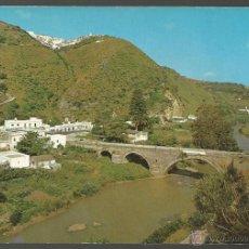 Postales: POSTAL VEJER DE LA FRONTERA (CÁDIZ) - BARCA DE VEJER Y AL FONDO EL PUEBLO - 1968. Lote 42271528