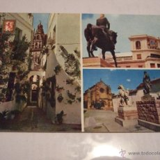 Postales: POSTAL CORDOBA - VARIOS ASPECTOS - 1963 - SIN CIRCULAR - SUBIRATS CASANOVA 763. Lote 42318540