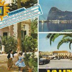 Postales: LA LINEA DE LA CONCEPCION, EDITOR: SUBIRATS CASANOVA Nº 17, ESCRITA EN 1967. Lote 42407580