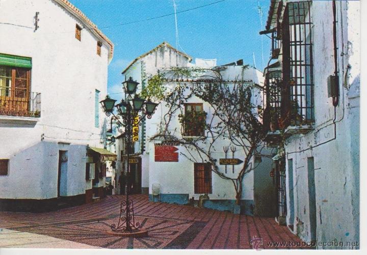 (3) COSTA DEL SOL. PLAZA TIPICA (Postales - España - Andalucia Moderna (desde 1.940))