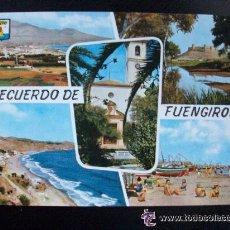 Postales: POSTAL DE FUENGIROLA (MALAGA) , 1962 .... Lote 42582556
