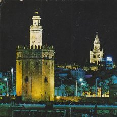 Postales: SEVILLA, TORRE DEL ORO, EDITOR: BEASCOA Nº 517. Lote 42592227