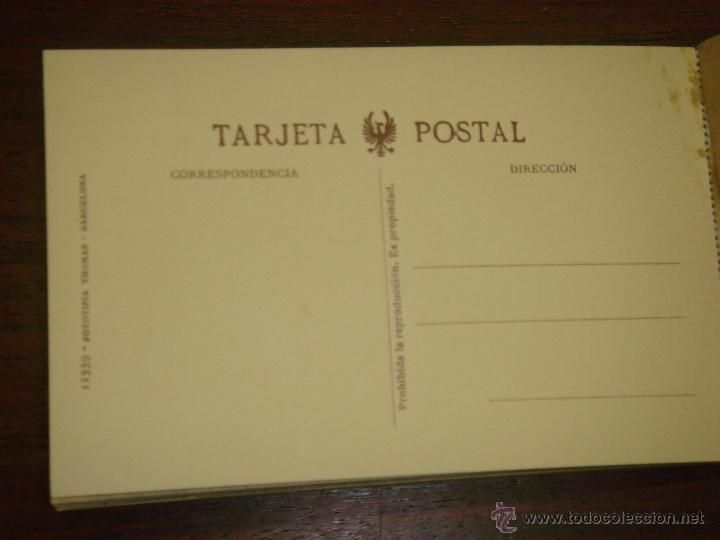 Postales: ANTIGUO ALBUM DE 15 POSTALES DE HOSPITAL DE VENERABLES. SEVILLA. SERIE 1ª. THOMAS. - Foto 3 - 42593236