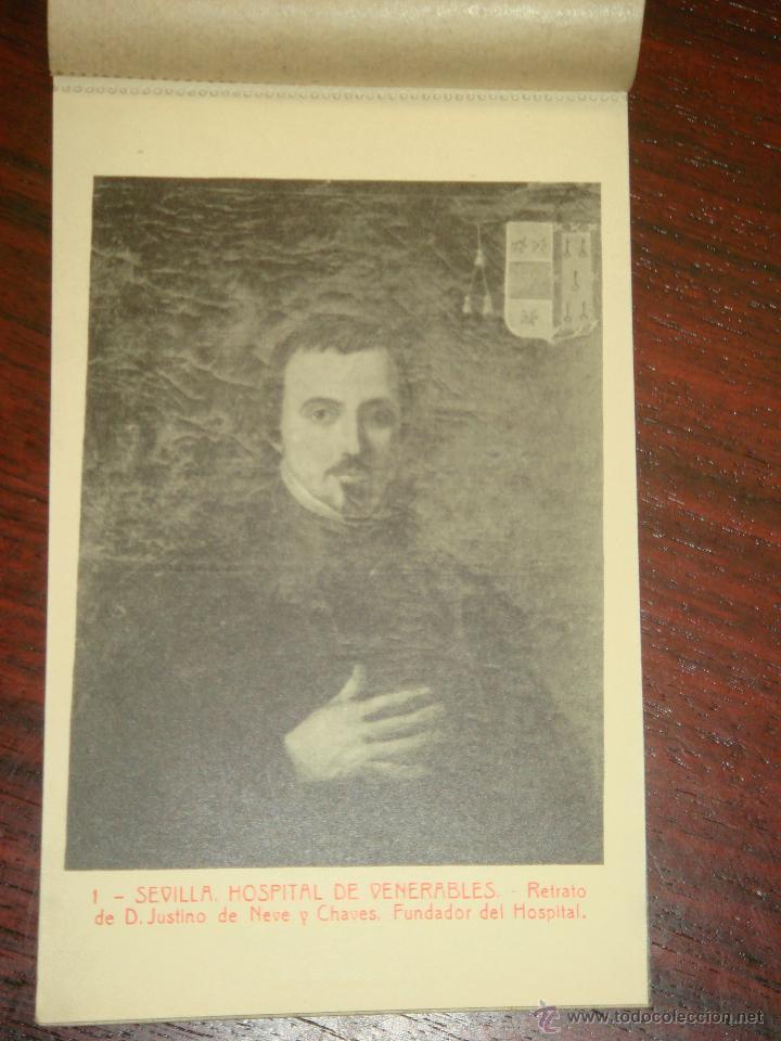 Postales: ANTIGUO ALBUM DE 15 POSTALES DE HOSPITAL DE VENERABLES. SEVILLA. SERIE 1ª. THOMAS. - Foto 5 - 42593236