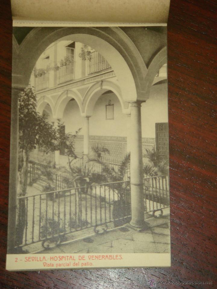 Postales: ANTIGUO ALBUM DE 15 POSTALES DE HOSPITAL DE VENERABLES. SEVILLA. SERIE 1ª. THOMAS. - Foto 6 - 42593236