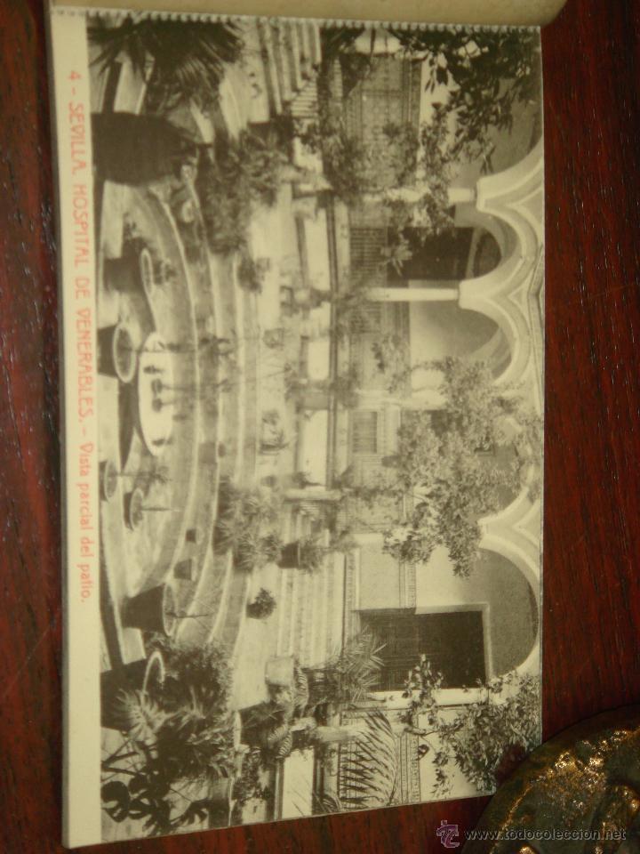 Postales: ANTIGUO ALBUM DE 15 POSTALES DE HOSPITAL DE VENERABLES. SEVILLA. SERIE 1ª. THOMAS. - Foto 7 - 42593236