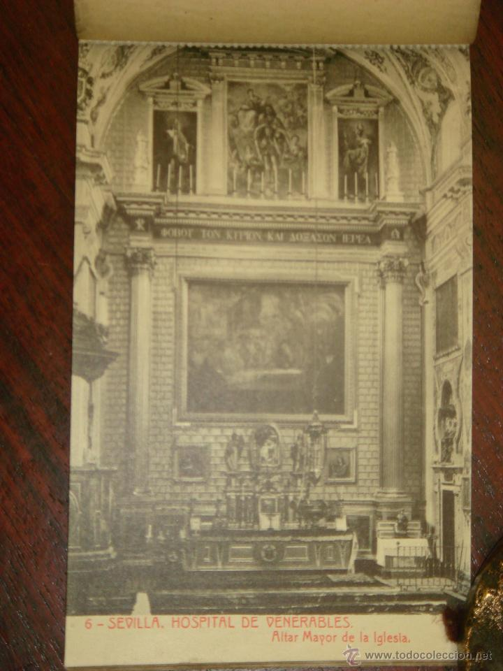Postales: ANTIGUO ALBUM DE 15 POSTALES DE HOSPITAL DE VENERABLES. SEVILLA. SERIE 1ª. THOMAS. - Foto 8 - 42593236