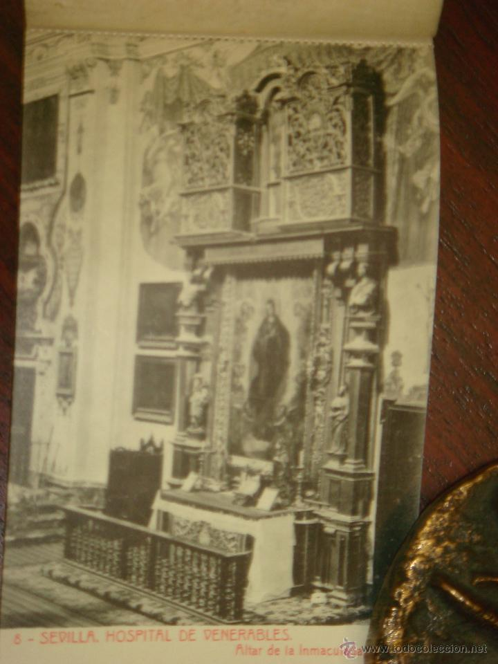 Postales: ANTIGUO ALBUM DE 15 POSTALES DE HOSPITAL DE VENERABLES. SEVILLA. SERIE 1ª. THOMAS. - Foto 9 - 42593236