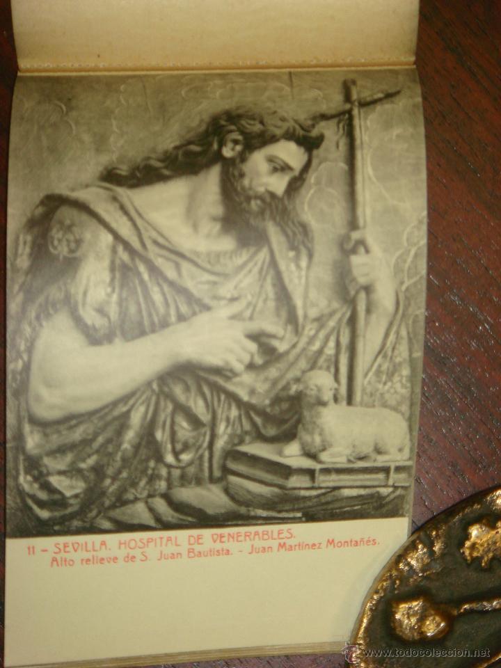 Postales: ANTIGUO ALBUM DE 15 POSTALES DE HOSPITAL DE VENERABLES. SEVILLA. SERIE 1ª. THOMAS. - Foto 10 - 42593236