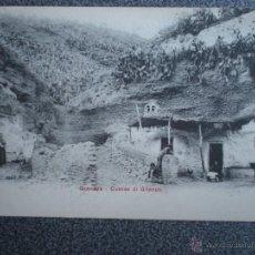 Postales: GRANADA CUEVAS DI GITANOS POSTAL ANTERIOR A 1905. Lote 43026708