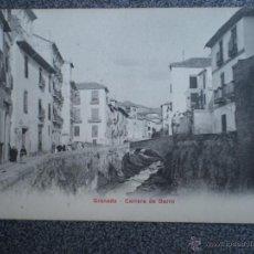 Postales: GRANADA CARRERA DE DARRO POSTAL ANTERIOR A 1905. Lote 43026721
