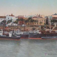 Postales: ORIGINAL VISTA DE SEVILLA. EXPOSICIÓN 1929. Lote 43093375