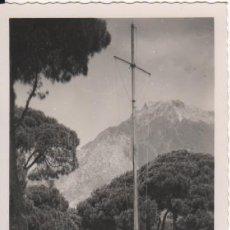 Postales: MARBELLA - PLAZA DE ESPAÑA DEL CAMPAMENTO VIGIL DE QUIÑONES Y CONCHA AL FONDO - Nº 38 ED. ARRIBAS. Lote 43099402