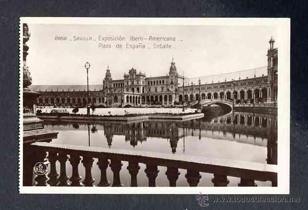 Postales: Lote de 15 postales de la Exposicion Ibero Americana de SEVILLA (Ed. Unique) (ver fotos adicionales) - Foto 3 - 43131043