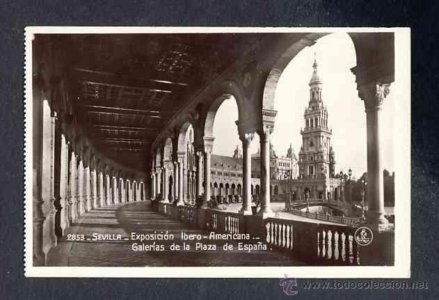 Postales: Lote de 15 postales de la Exposicion Ibero Americana de SEVILLA (Ed. Unique) (ver fotos adicionales) - Foto 4 - 43131043