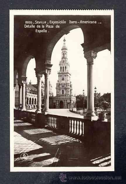 Postales: Lote de 15 postales de la Exposicion Ibero Americana de SEVILLA (Ed. Unique) (ver fotos adicionales) - Foto 6 - 43131043