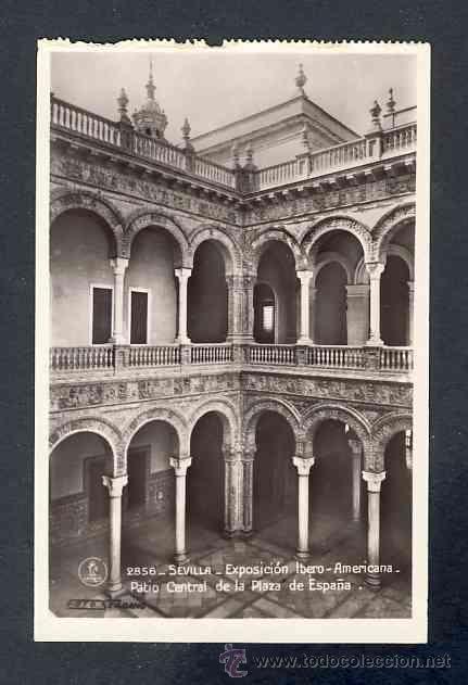 Postales: Lote de 15 postales de la Exposicion Ibero Americana de SEVILLA (Ed. Unique) (ver fotos adicionales) - Foto 7 - 43131043