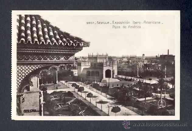 Postales: Lote de 15 postales de la Exposicion Ibero Americana de SEVILLA (Ed. Unique) (ver fotos adicionales) - Foto 8 - 43131043