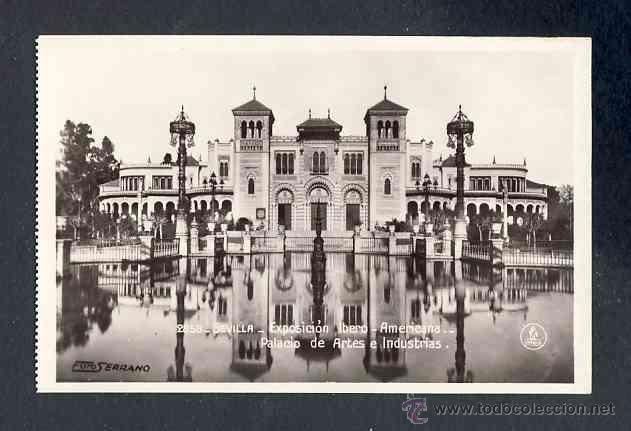 Postales: Lote de 15 postales de la Exposicion Ibero Americana de SEVILLA (Ed. Unique) (ver fotos adicionales) - Foto 9 - 43131043