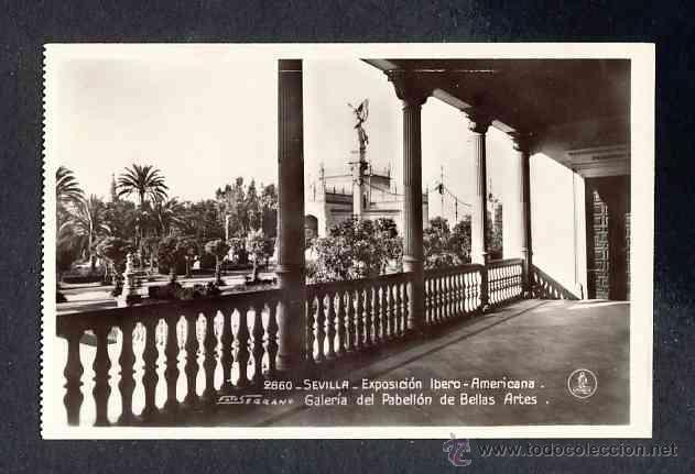 Postales: Lote de 15 postales de la Exposicion Ibero Americana de SEVILLA (Ed. Unique) (ver fotos adicionales) - Foto 11 - 43131043