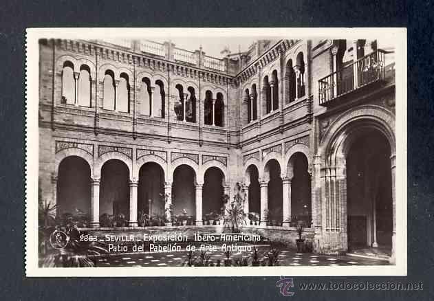 Postales: Lote de 15 postales de la Exposicion Ibero Americana de SEVILLA (Ed. Unique) (ver fotos adicionales) - Foto 14 - 43131043
