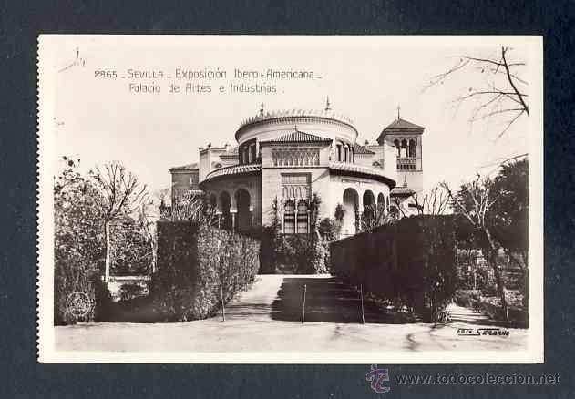 Postales: Lote de 15 postales de la Exposicion Ibero Americana de SEVILLA (Ed. Unique) (ver fotos adicionales) - Foto 16 - 43131043