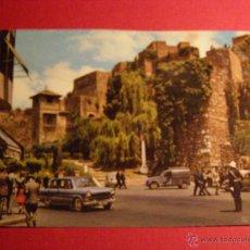 Postales: POSTAL - MÁLAGA - PLAZA DE LA ADUANA Y LA ALCAZABA - GARCÍA GARRABELLA - NUEVA -. Lote 43141710