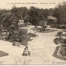 Postales: SANLUCAR DE BARRAMEDA-JARDINES DEL PINO-S.KEPETIO-SIN CIRCULAR. Lote 49970361