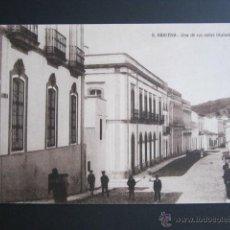 Postales: POSTAL HUELVA. ARACENA. UNA DE SUS CALLES TITULADA BADÍA. . Lote 43231954