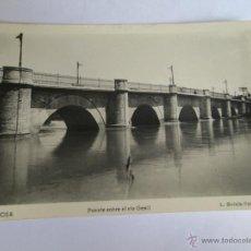 Postales: ECIJA PUENTE SOBRE EL RIO GENIL FOTO ROISIN 6 - 1957. Lote 43284405