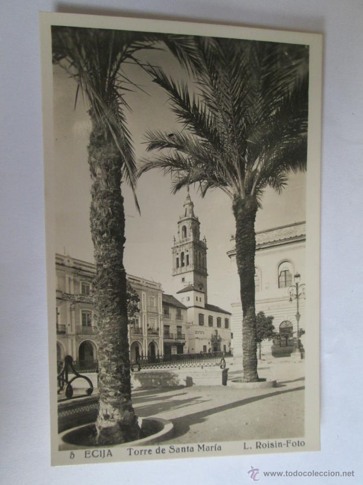 ECIJA TORRE DE SANTA MARIA FOTO ROISIN 5 (Postales - España - Andalucia Moderna (desde 1.940))
