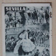 Postales: POSTAL ANTIGUA DE SEVILLA. Lote 43330755