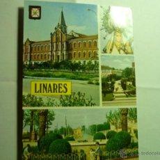 Postales: POSTAL LINARES.-HOSPITAL Y ASILO ANCIANOS. Lote 43359769
