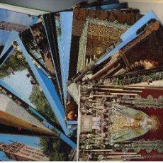 Postales: 109 POSTALES DE SEVILLA Y PUEBLOS DE LA PROVINCIA. AÑOS 60-70. LA MAYORIA SIN CIRCULAR. Lote 43375129